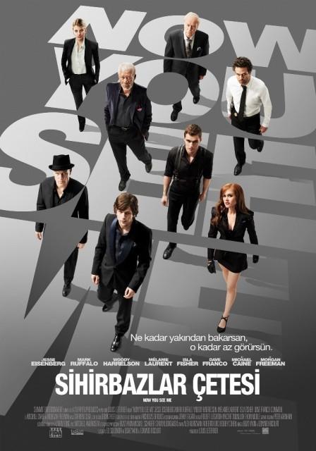 Sihirbazlar Çetesi - Now You See Me - 2013 - BRRip - Türkçe Dublaj