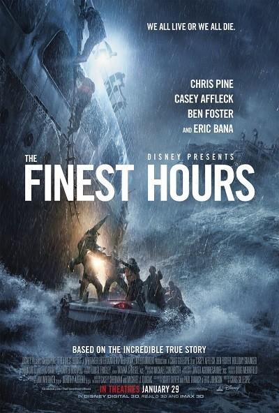 Zor Saatler - The Finest Hours 2016 m1080p BluRay x264 Türkçe Dublaj - Tek Link