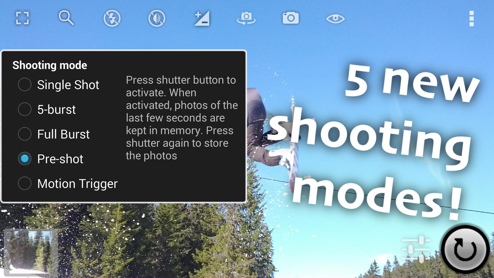 Fast Burst Camera Android