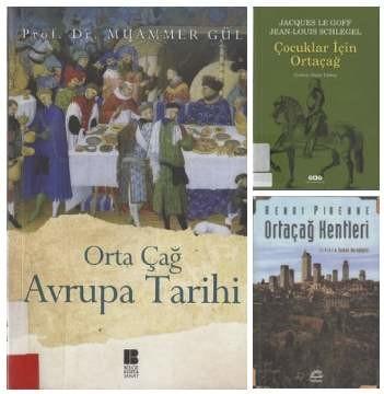3 Orta çağ hakkında Türkçe eKitap