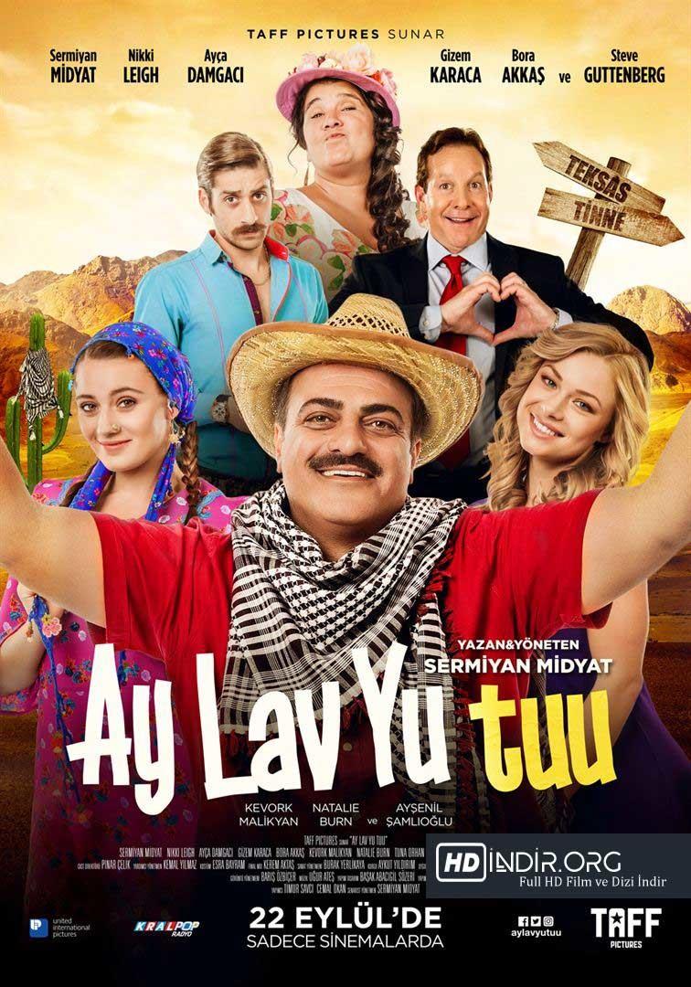 Ay Lav Yu Tuu (2017) Yerli Film Full  HD İndir