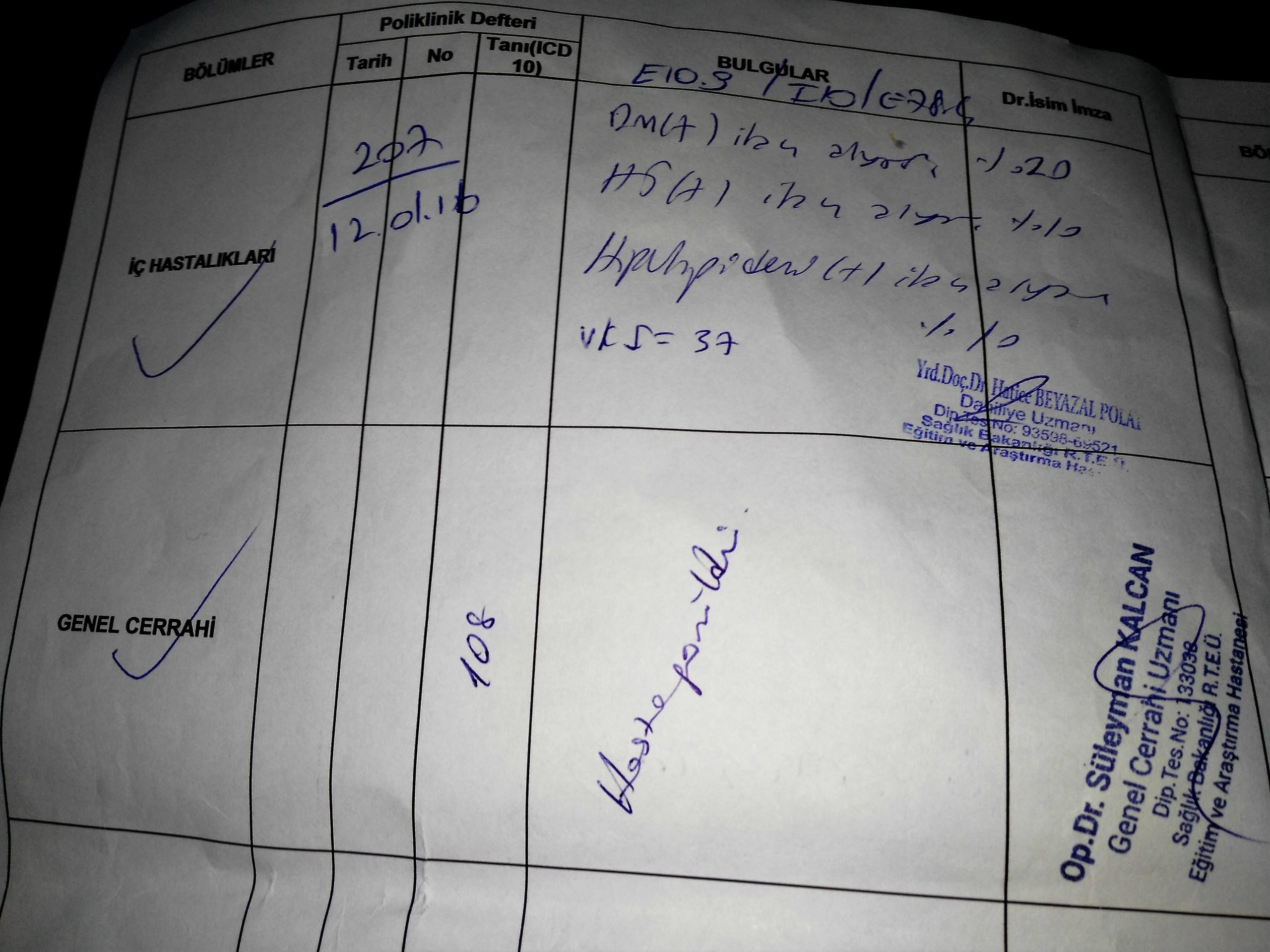 PP08QN - Babamın rahatsızlıklarından dolayı ÖTV indirimi için yeterli oranda rapor..?