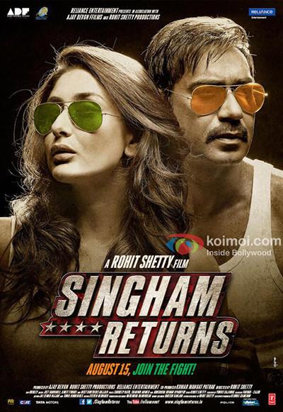 Singham Returns (2014) 720p BRRip Türkçe Altyazı indir