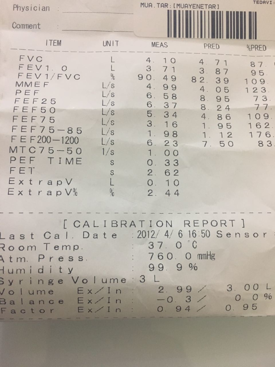PQ87dQ - Solunum testine göre  hangi oranda rapor verilir?