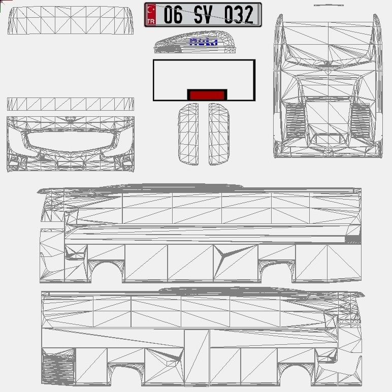otobÜs - ets 2 mercedes-benz yeni travego 2016 otobüsü paylaşımda