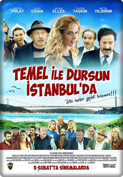 Temel ile Dursun İstanbul'da 2016 (Yerli Film) 576p HDTV x265 AC3