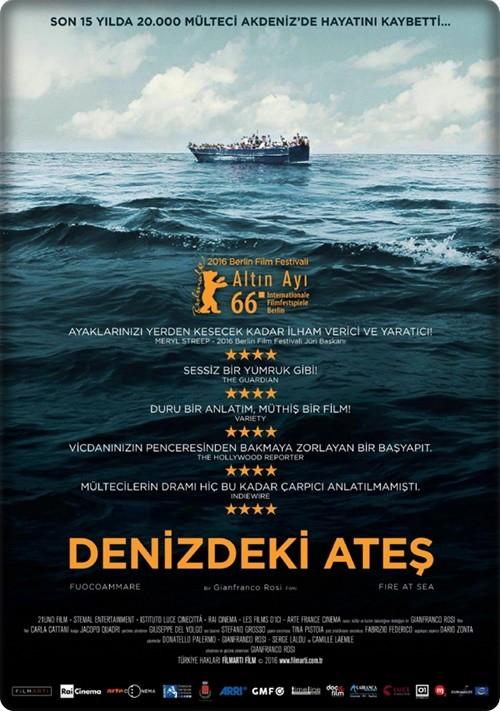 Denizdeki Ateş - Fuocoammare 2016 (Türkçe Dublaj) BDRip XviD