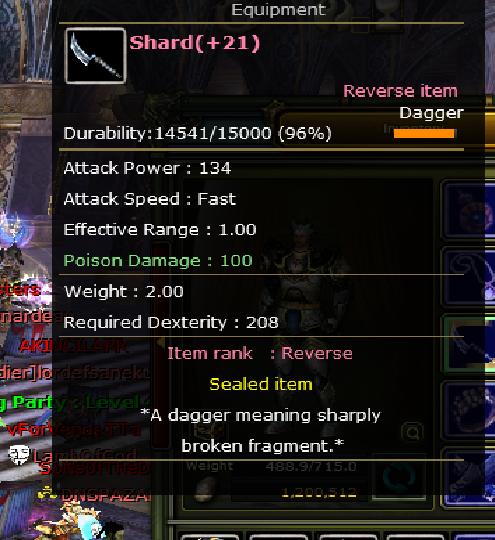 SHARD REB 21 (+10)