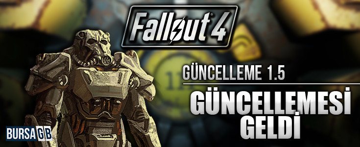 Fallout 4' 1.5 Güncellemesi Geldi