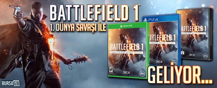 Battlefield 1:  1. Dünya Savaşı İle Geliyor