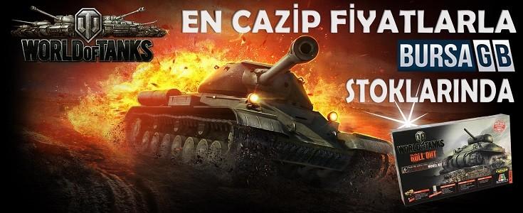 World of Tanks Cazip Fiyatlarla BursaGB Stoklarinda