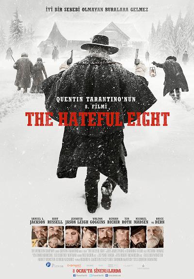 The Hateful Eight | 2015 | Türkçe Dublaj – Dual