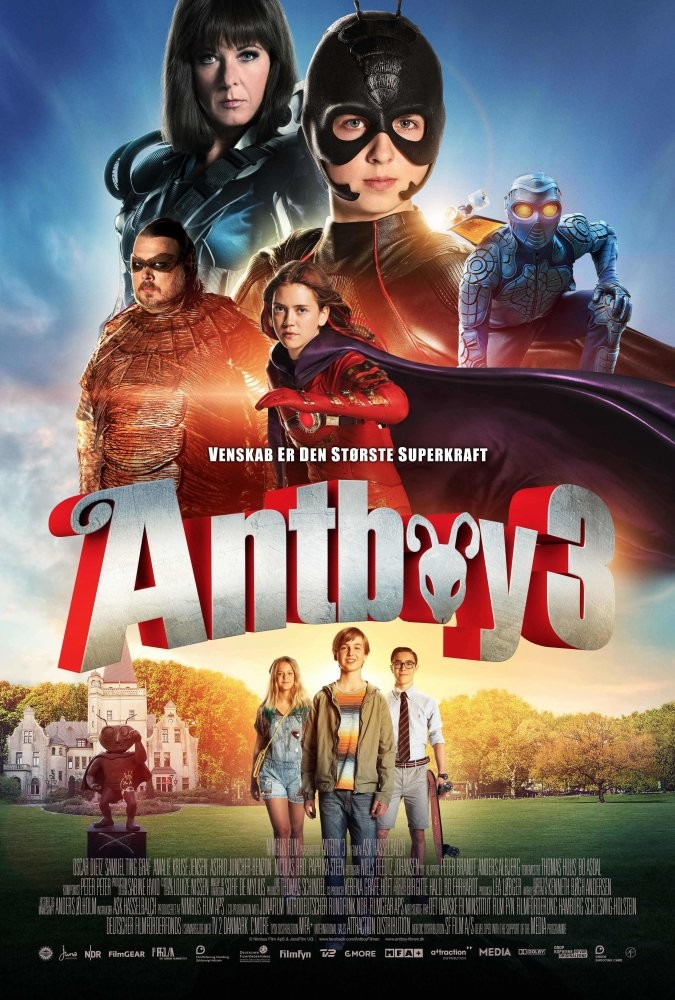 Karınca Çocuk Antboy 3 (2016) - HDRip Xvid Türkçe Dublaj film indir