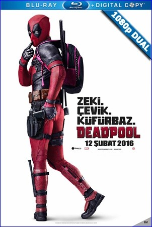 Deadpool | 2016 | BluRay 1080p x264 | DuaL TR-EN - Teklink indir