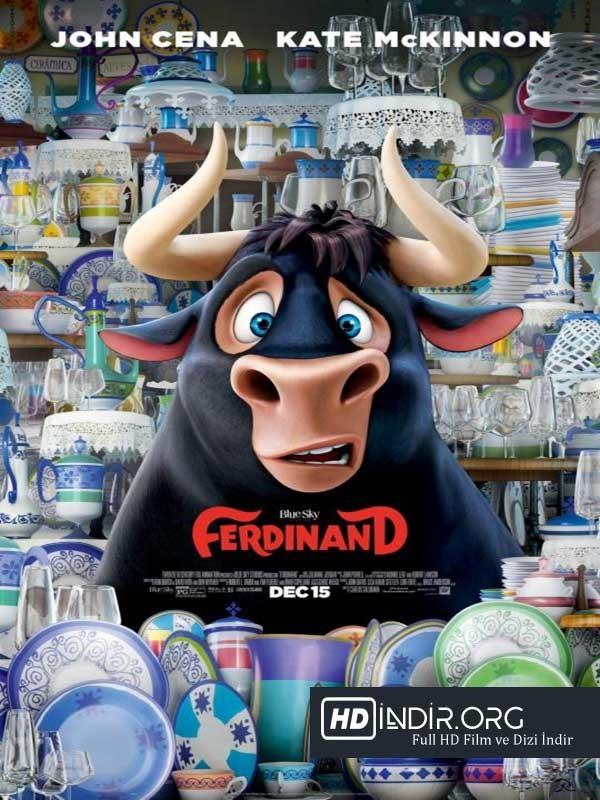 Ferdinand (2017) Türkçe Dublaj Full HD indir