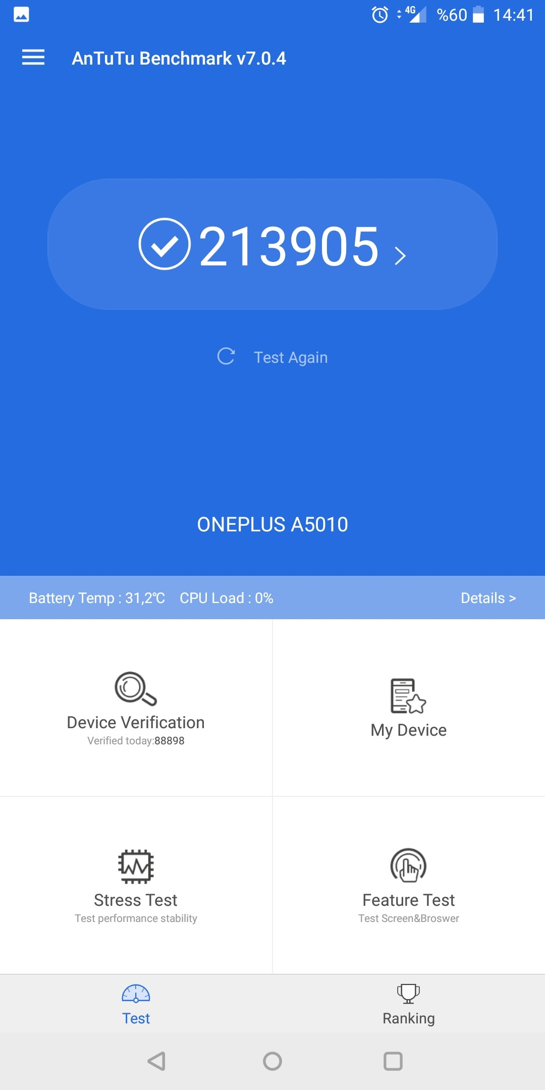 Share The New Antutu Benchmark V7 Acore here with Screenshot