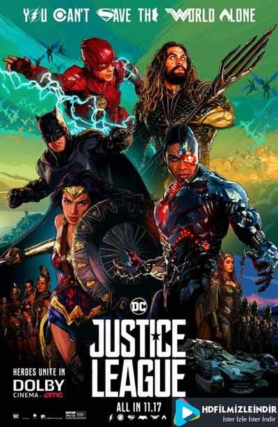 Justice League: Adalet Birliği (2017) Türkçe Dublaj İzle İndir Full HD Tek Parça