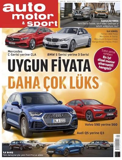 Auto Motor & Sport Mayıs 2018