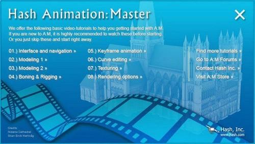 Hash Animation Master 19.0d (x86/x64) Full İndir