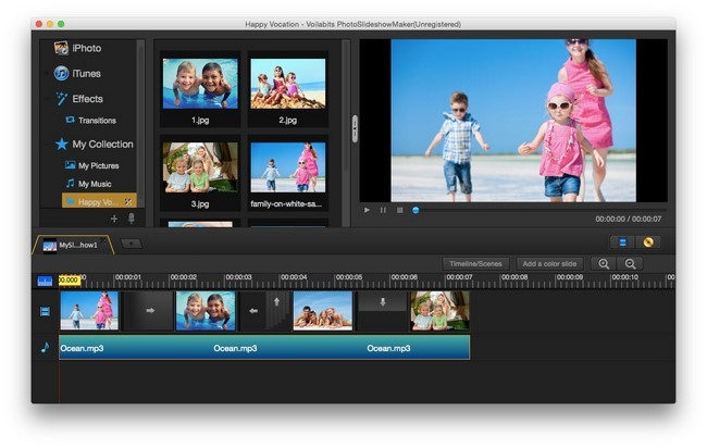 Voilabits PhotoSlideshowMaker 2.2.2 - MacOSX