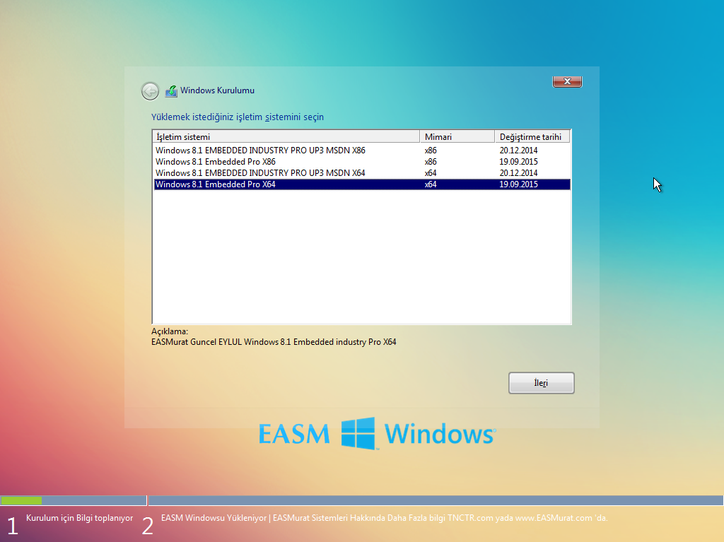 EASM Win8.1 4in1