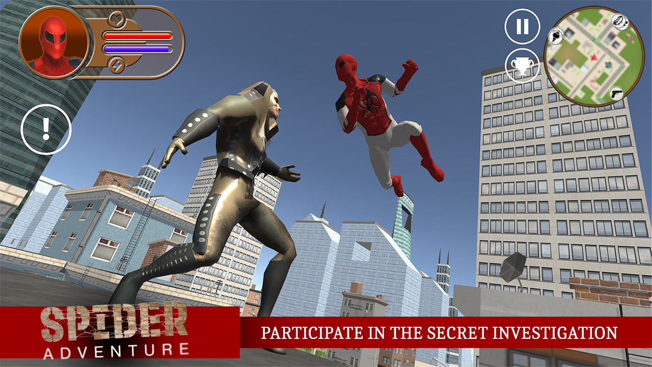 Spider Adventure Android Oyun