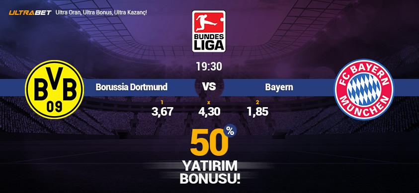 Borussia Dortmund vs Bayern - Canlı Maç İzle