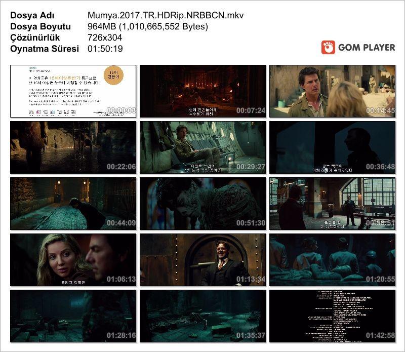 Mumya - The Mummy 2017 HDRip (Türkçe Dublaj)