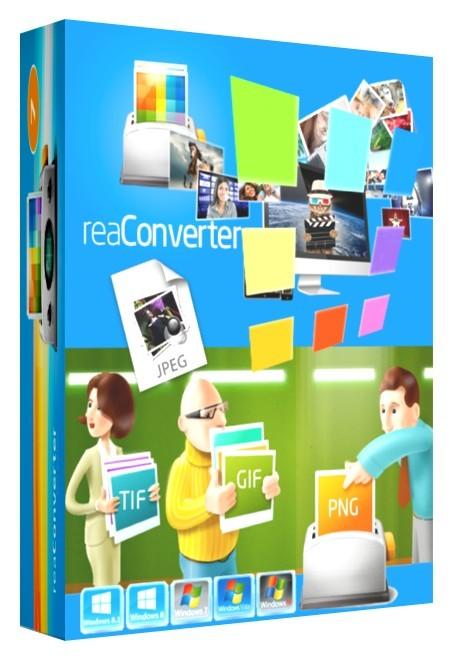 ReaSoft Development reaConverter Pro 7.344 Full İndir Türkçe