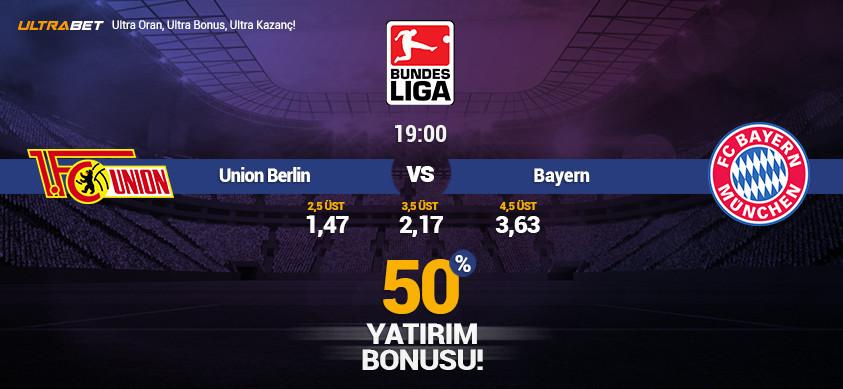 Union Berlin vs Bayern - Canlı Maç İzle