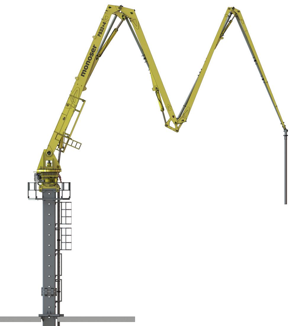 hidrolik beton dağıtıcı