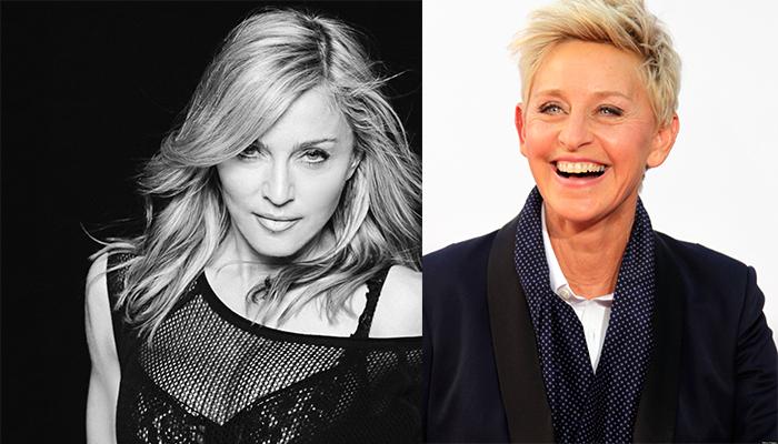 Ellen DeGeneres ve Madonna - 59 yaşında