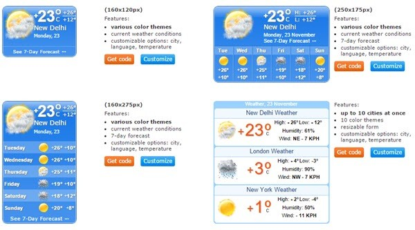 Booked.net Weather Widget