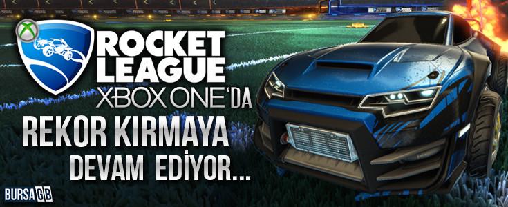 Rocket League Xbox One ' da da Rekor Kiriyor !