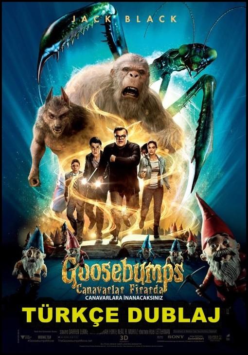 Goosebumps - Canavarlar Firarda 2015 ( m1080p ) DUAL TR-ENG - Film indir