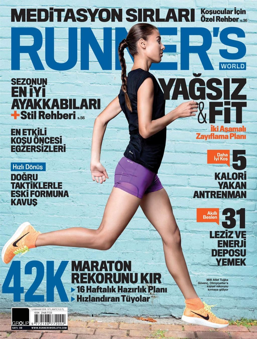 Runners World İlkbahar 2016 PDF Dergi indir
