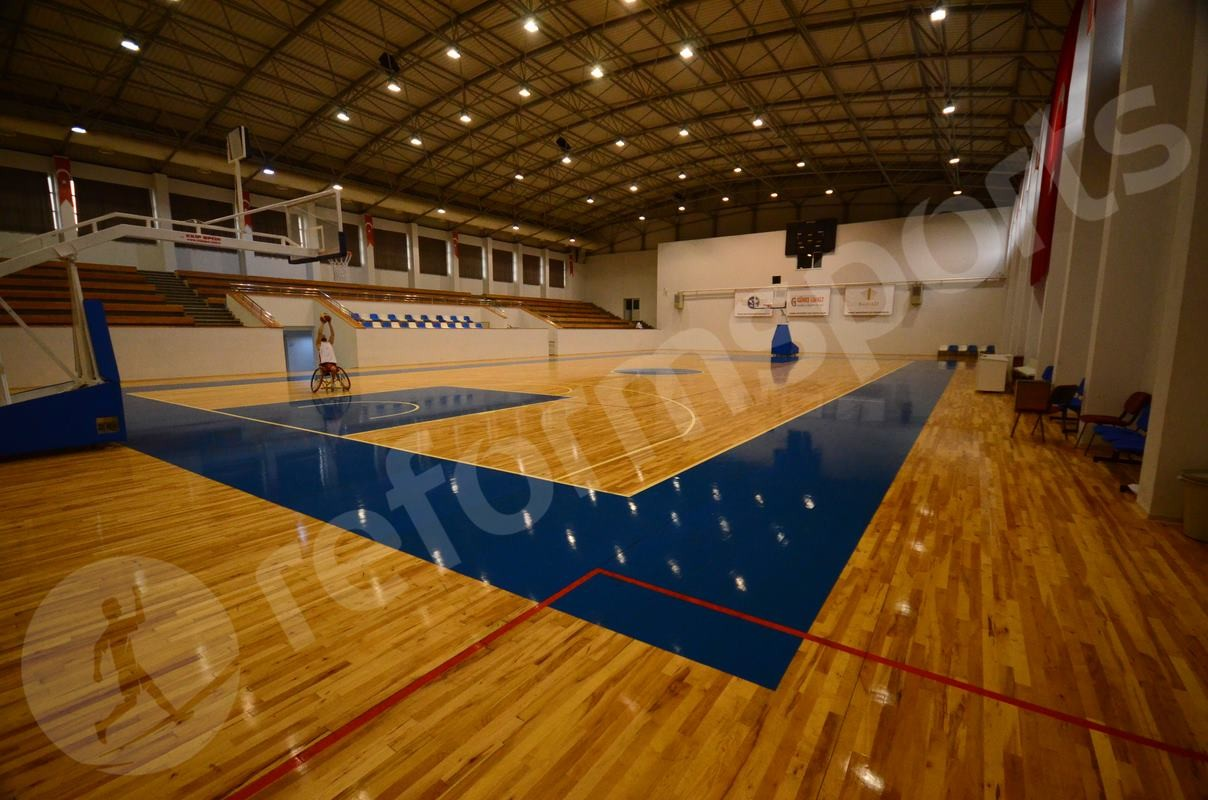Sports Parquet Flooring Hardwood Basketball