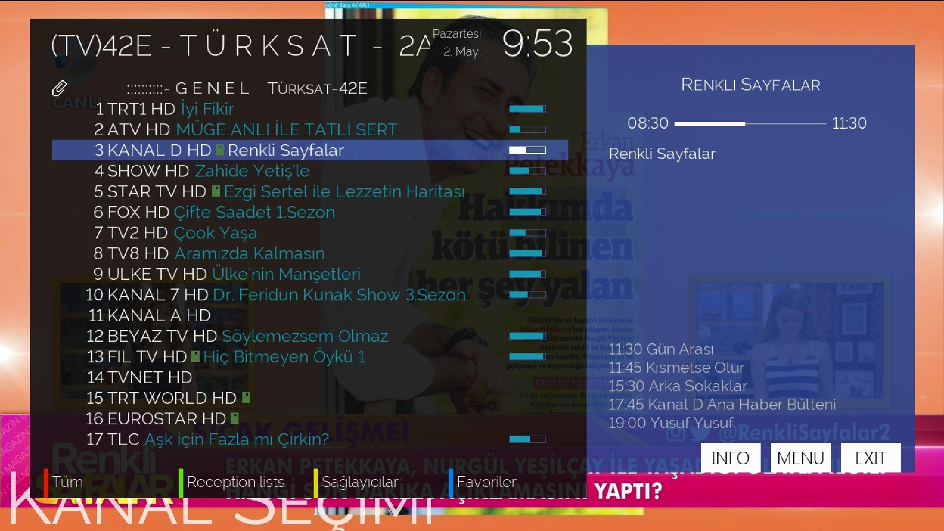 VU+ Solo2 Backup Images - Vu+Solo 2 OpenATV 5 3 KODI 16 1