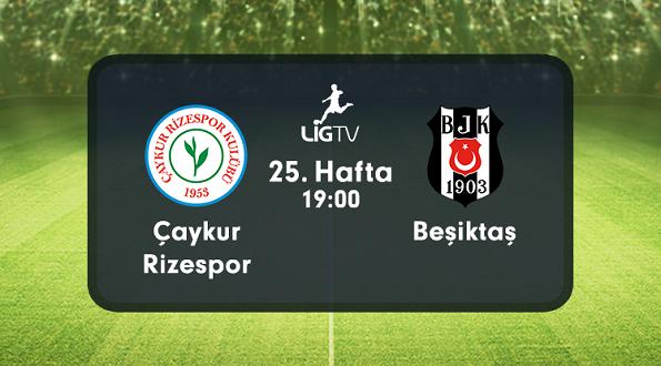 Rizespor – Beşiktaş (12.03.2016) | HDTV 720p | Full Maç – indir