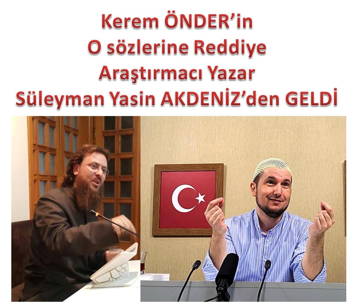 """Bazı Nurcu kardeşlerim: """"Saidi Nursî, Mehdi"""" diyor! Bu taassup, Hadislere muhaliftir! / Kerem Önder'in  Sözlerine Reddiye"""