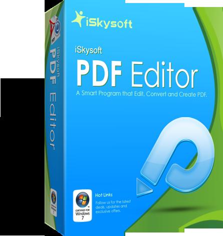 iSkysoft PDF Editor 5.6.0.1 - Portable