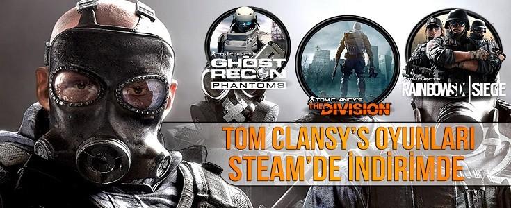 Tom Clancy's Oyunlari Steam'de Indirime Girdi