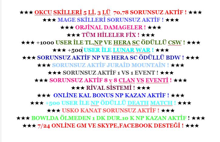 ★SystemGaming .Net★ OKCU-MAGE ★ 5 YILLIK EFSANE ★A�ILIS 13 A�USTOS YARIN SAAT 19.00★ +1.000 ONL�NE
