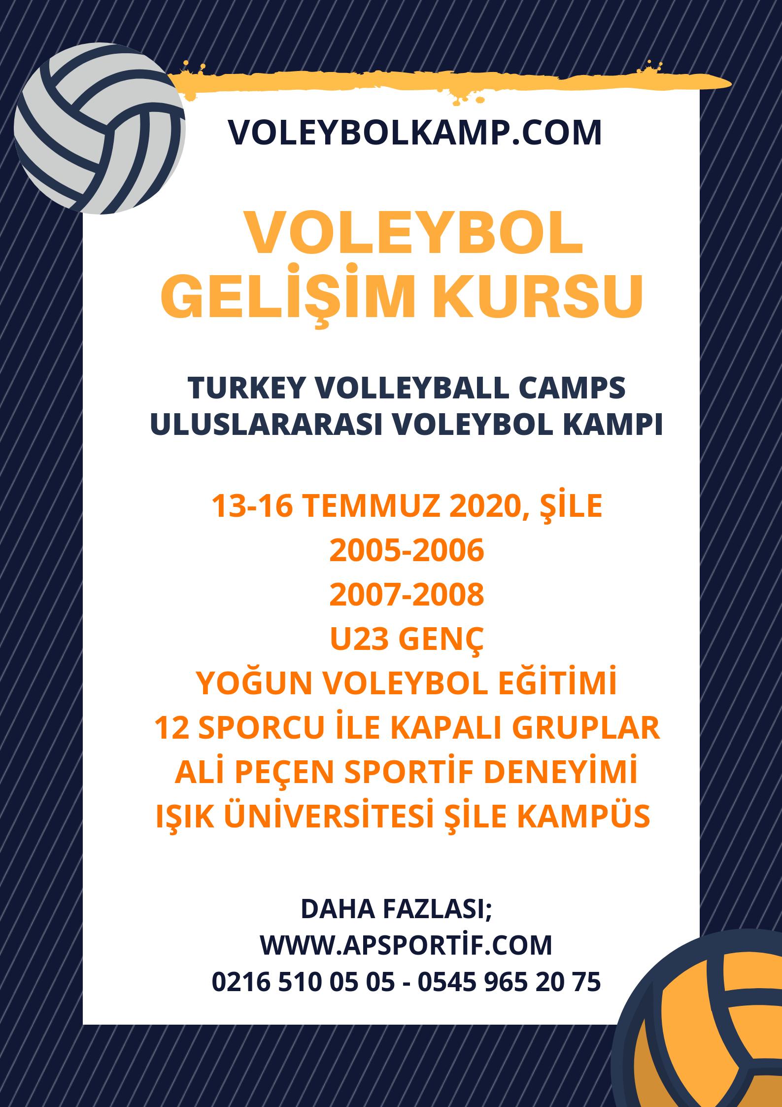 voleybol kursu, voleybol kampı, istanbul voleybol kursu, voleybol okulu.