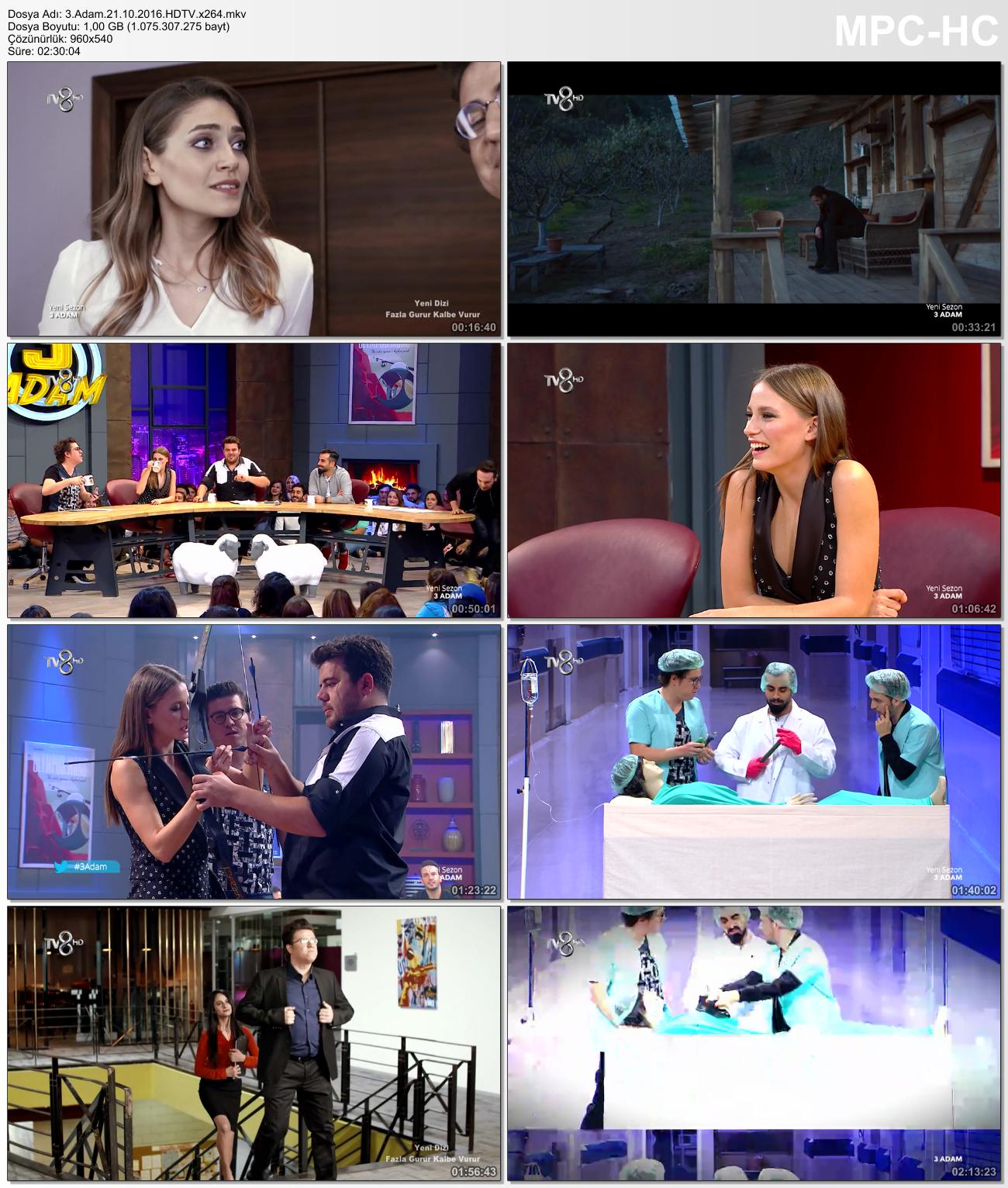 3 Adam 19.04.2015 (HDTV - 720p) Tüm Bölümler - VKRG