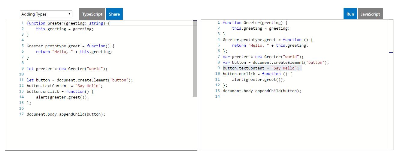 TypeScript Örneği