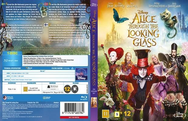 Alis Harikalar Diyarında Aynanın İçinden 2016 (DVD-9) DuaL TR-ENG