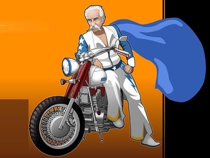 İhtiyar Motorcu Oyunu