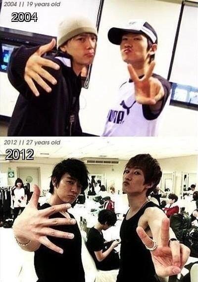 Super Junior Eski Fotoğrafları QV46Gj