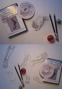 Matthew Archambault Kara Kalem Çizim Eğitim Seti 2 DVD
